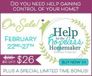 Help for the Hopeless Homemaker