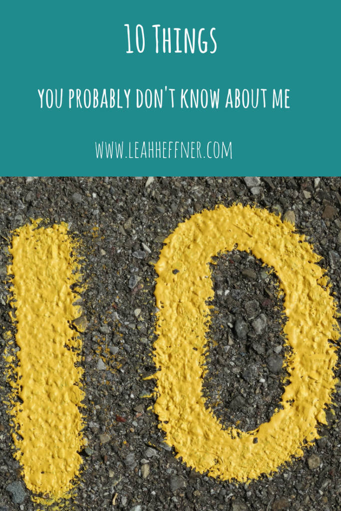 10 Things You Probably Don't Know About Me - Life Around the Coffee Cup - www.leahheffner.com
