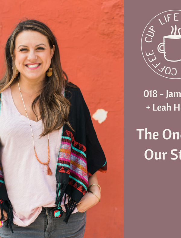 #018: The One With Our Stories With Jamie Ivey